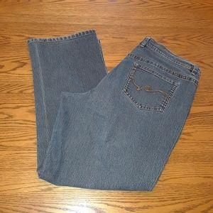 4/$15 Size 16P straight leg jeans